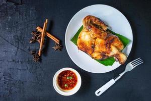 poulet aux herbes