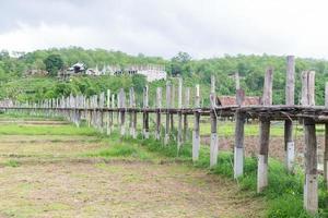 Pont de su tong pae en thaïlande photo