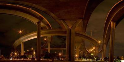 sous le pont le soir photo