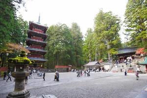 Temple du sanctuaire Nikko toshogu à tokyo, 2016 photo