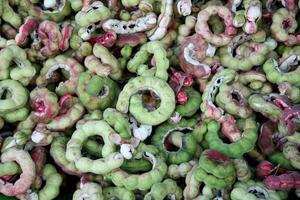 Groupe de fruits de tamarin de Manille