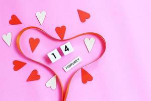 coeur de la Saint-Valentin