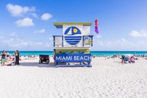 Maison de sauveteur à Miami Beach, Floride, 2017 photo