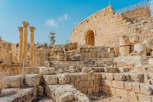 Temple d'Artémis à Gerasa, aujourd'hui Jerash, Jordanie photo