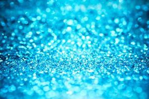bokeh de paillettes bleues