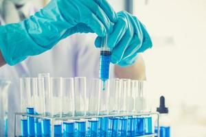 concept de laboratoire scientifique