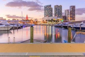 Bayside marketplace à Miami, Floride, 2016