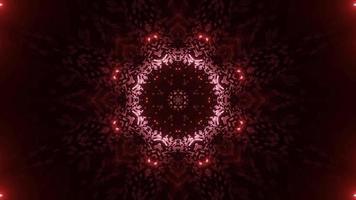 Conception d'illustration 3d kaléidoscope coloré pour le fond ou le papier peint photo