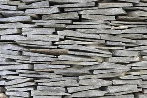 mur en pierre d'ardoise photo