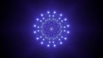 conception de kaléidoscope illustration 3d en forme d'étoile pour le fond ou le papier peint photo