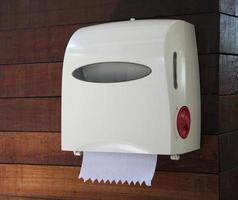 distributeur d'essuie-tout photo