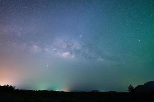 ciel étoilé coloré photo