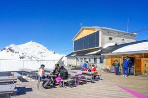 Station de Birg dans les Alpes suisses à Mürren