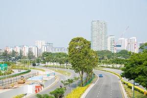 bâtiments de singapour photo