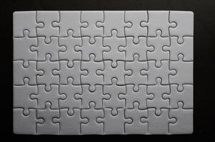 puzzle couleur blanche