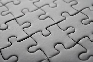 puzzle de couleur blanche