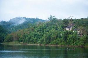 station balnéaire sur la montagne en thaïlande