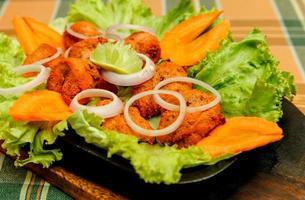 assiette de poulet tikka