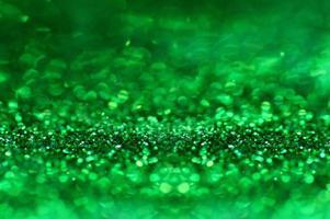 fond abstrait de paillettes vertes photo