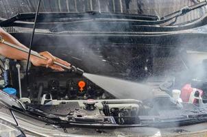 voiture de machine à moteur à eau haute pression
