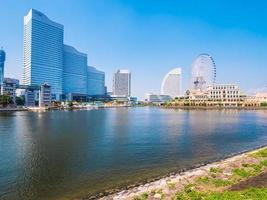 Skyline de Yokohama au Japon