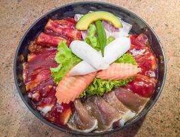 barbecue yakiniku à la japonaise, ensemble de viande grillée pour une personne