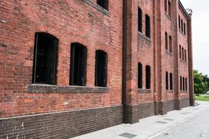 bâtiment en brique rustique photo