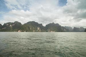 montagnes et eau