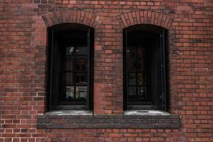 vieux bâtiment en brique photo