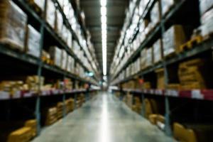 fond d & # 39; entrepôt flou photo