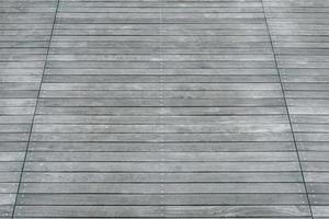 sol en bois gris photo