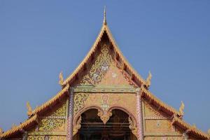 Chiang Mai, Thaïlande, 2020 - extérieur du temple wat phra singh