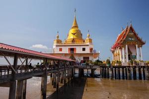 Chachoengsao, Thaïlande, 2020 - temple de wat hong thong pendant la journée
