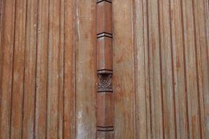 mur en bois photo
