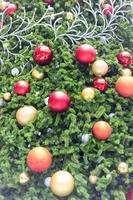 boules de décoration de Noël