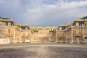 Le château de versailles près de paris, france