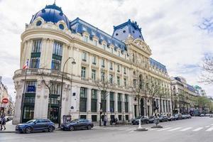 Paris, France, 09 avril 2018, immeubles résidentiels parisiens