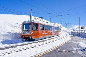 Le Matterhorn Gotthard Bahn à Riffelberg, Suisse