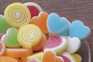 bonbons sucrés à la gelée