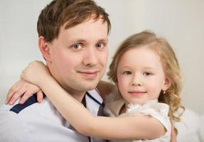 père et fille photo