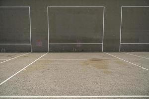 Terrains de handball américain à Venice Beach photo