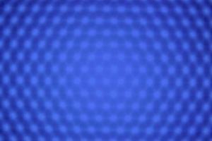 panneau d'éclairage led bleu flou photo