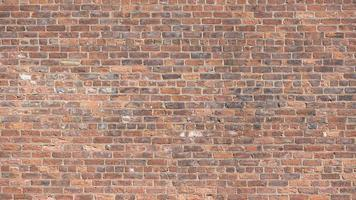 un mur de briques rouges