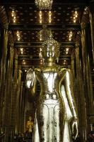 temple thaï bouddhiste à chiang mai photo