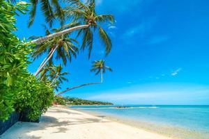 belle plage tropicale photo