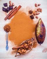 concept de saveurs d'automne photo