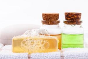 huiles essentielles et savon