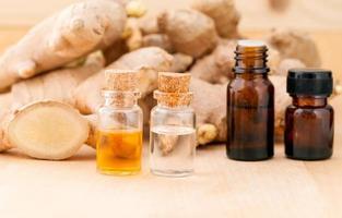 huile essentielle de gingembre photo