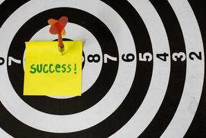 concept d'objectif et de réalisation