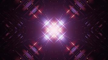 illustration de conception kaléidoscope 3d coloré pour le fond ou la texture